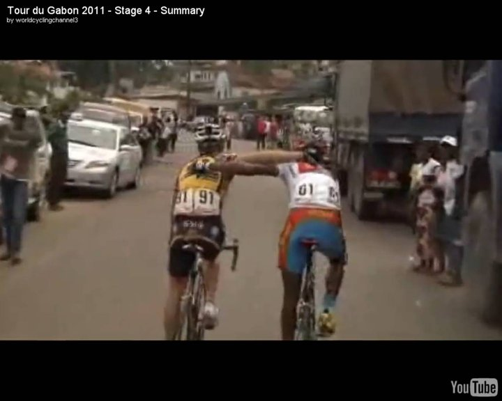 Tour of Gabon, stage 4 finish